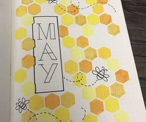 journal, may, and yellow image