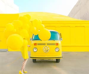 balloons, cars, and vans image