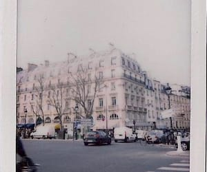 polaroid, architecture, and vintage image