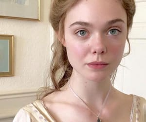 Elle Fanning and beauty image