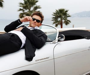 black and white, sunglasses, and scott eastwood image
