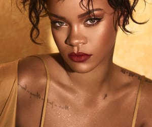 makeup, moroccanspice, and rihanna image