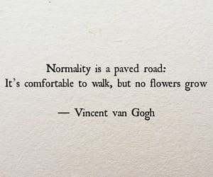 quotes, vincent van gogh, and flowers image