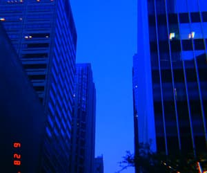 blue and building image