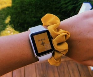 yellow, aesthetic, and watch image