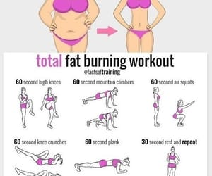 fitness, body, and workout image