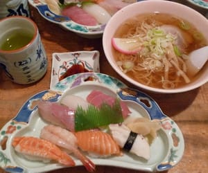 food, japan, and japanese image
