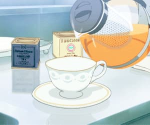 gif, anime, and tea image