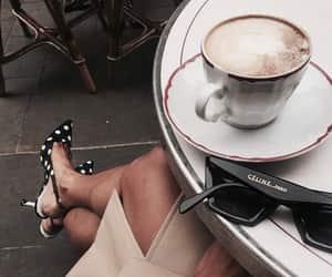 cafe, celine, and shopping image