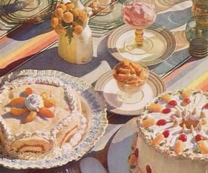 vintage, aesthetic, and dessert image