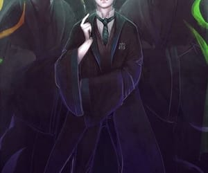draco malfoy, harry potter, and goyle image