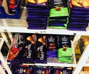 cadbury, dairy milk, and chocolates image