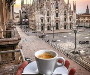 coffee, city, and aesthetic image