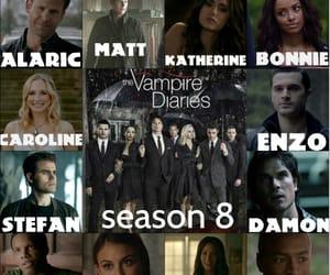 season 8, the vampire diaries, and tvd season 8 image