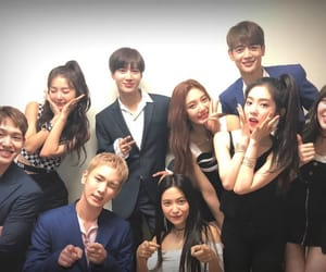 red velvet, SHINee, and key image