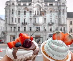 cupcake, delicious, and yummy image