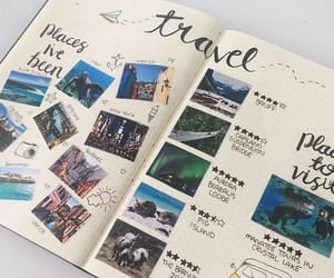 travel, travel journal, and photos image