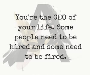 boss, life, and quote image