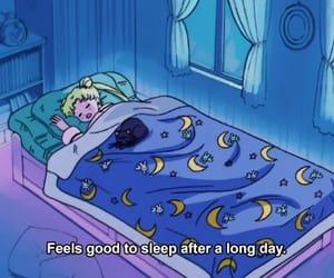 sailor moon, sleep, and anime image