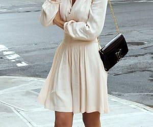 fashion, dress, and heels image