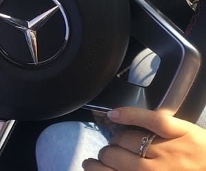 mercedes, nails, and ring image