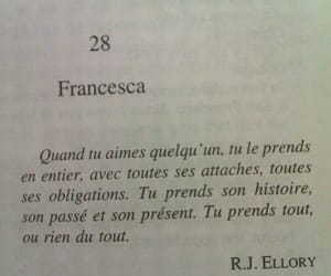 quotes, french, and book image