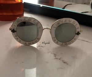 accessories, fashion style, and gucci sunglasses image