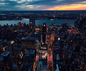 city, panoramic, and ny image