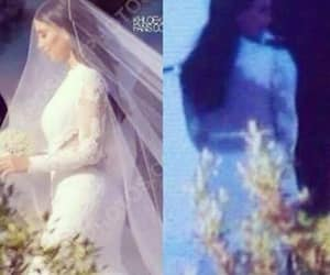 bride, Givenchy, and just married image