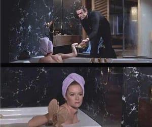 funny, James Bond, and bath image