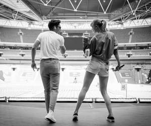 black and white, Taylor Swift, and wembley image
