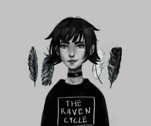 fanart, trc, and the raven cycle image