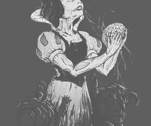 snow white, zombie, and disney image