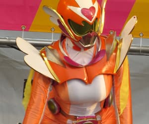 girly, heart, and power rangers image