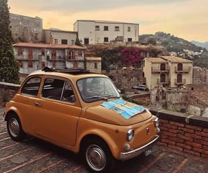 car, italy, and vintage image