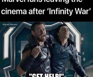 meme, marvel memes, and infinity war image