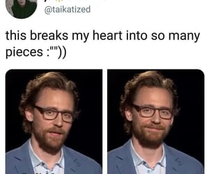 loki, tom hiddleston, and infinity war image