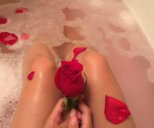 aesthetic, bath, and beauty image