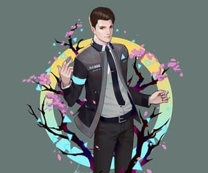 android, Connor, and detroit image