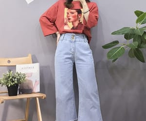 asian, fashion, and jeans image