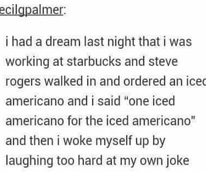 captain america, Dream, and funny image