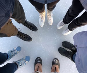ice, skating, and snow image