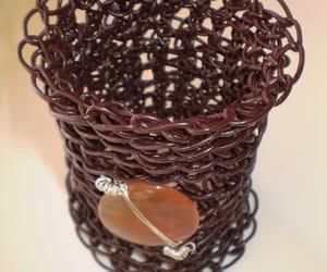 bracelets, etsy, and leather bracelet image