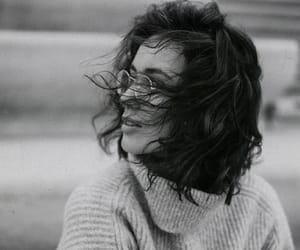 black and white, hair, and inspiration image