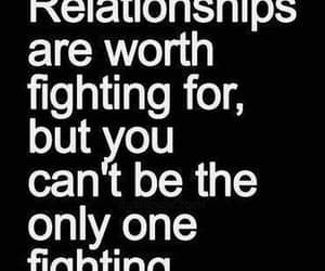 Relationship, quotes, and fight image