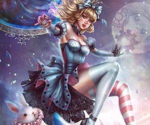 alice in wonderland, colour, and алиса в стране чудес image