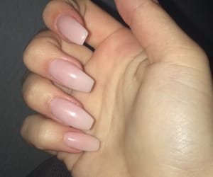 acrylic, long nails, and nails image