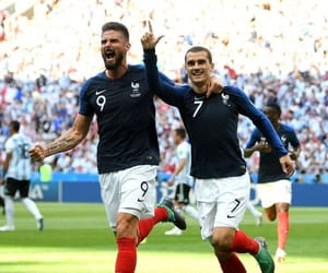 football, france, and player image