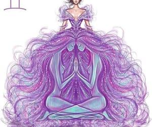 gemini, art, and horoscope image