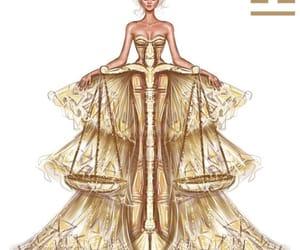 Libra, art, and dress image